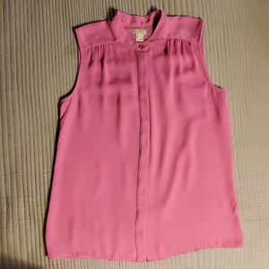 Women's J Crew sleeveless blouse